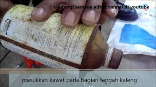 pengusir burung emprit (tips untuk petani padi)