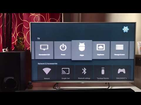 Sony Bravia - Download / Install / Manage Apps On Sony Android Smart 4k TV | Android TV Apps Setting