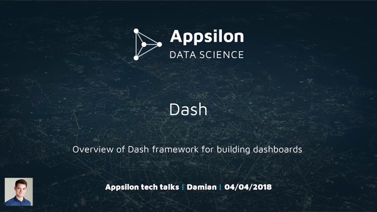 Overview of Dash Python Framework from Plotly for building