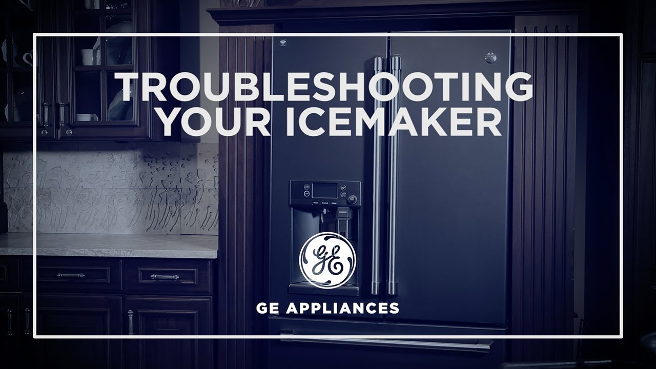 Icemaker Troubleshooting French Door Refrigerators Youtube