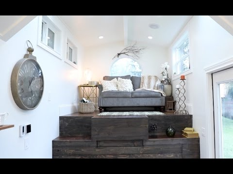VINTAGE GLAM TINY HOUSE Raises The Roof
