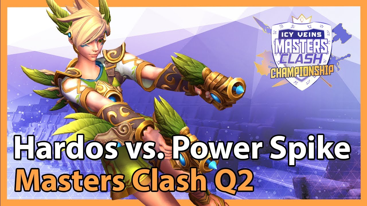 Hardos vs. Power Spike - Masters Clash - Heroes of the Storm 2021