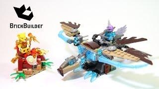 Kijk Lego Chima 70141 Vardy Ice Vulture Glider filmpje