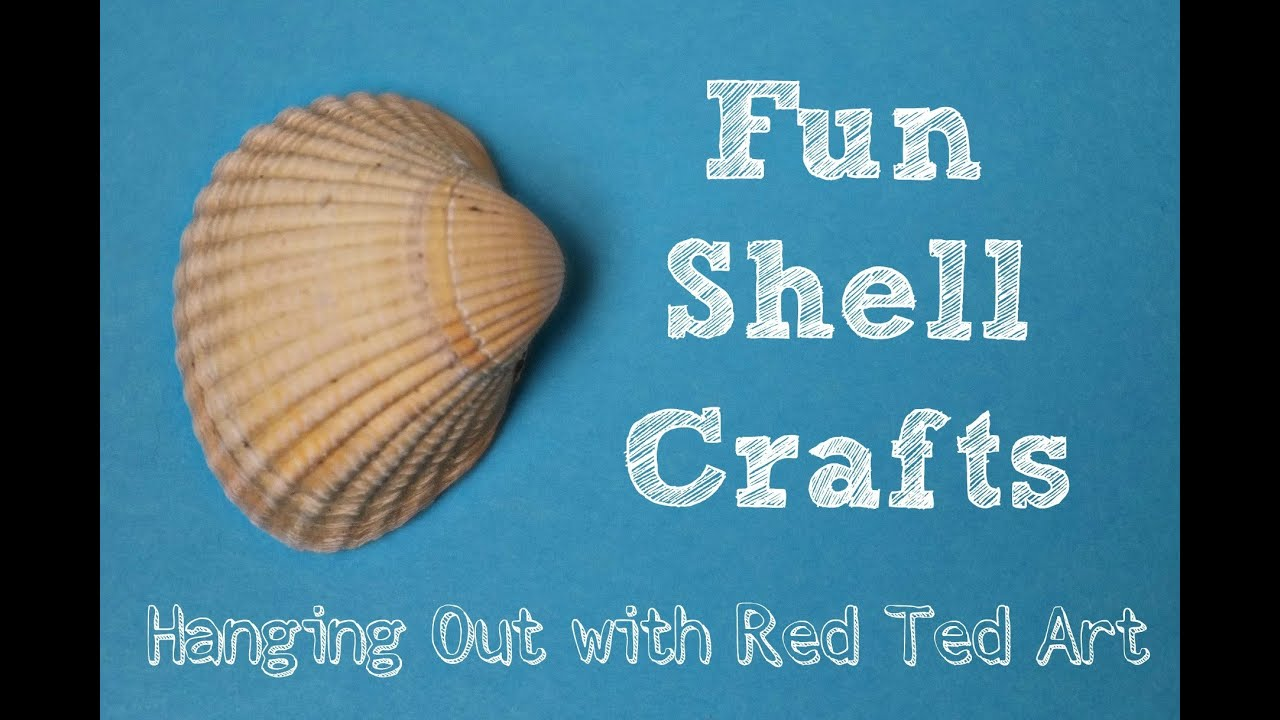 Shell craft ideas youtube for Shell craft ideas