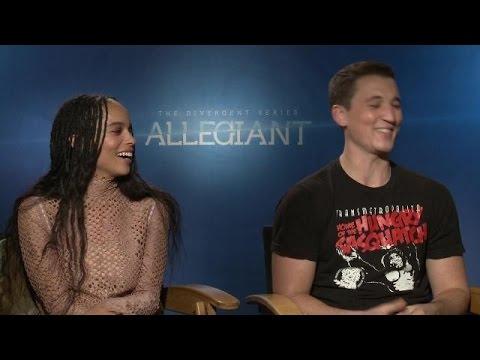 Miles Teller, Zoë Kravitz 'Divergent Series: Allegiant'   Exclusive
