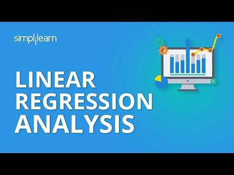 Linear Regression Analysis | Linear Regression in Python | Machine Learning Algorithms | Simplilearn
