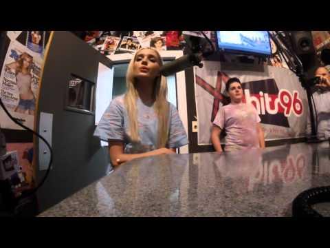 That Poppy - LowLife (LIVE in the @Hits96Radio Studio)