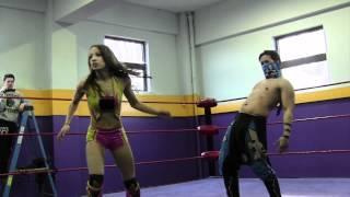 Beyond Wrestling [Free Match] Mercedes KV (Sasha Banks) v Fury v Mikaze v Fahrenheit (Intergender)