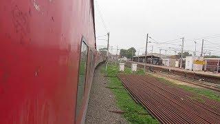Rare Skip : 12171 Haridwar AC Use Itarsi Yard Line(Bypass)...!