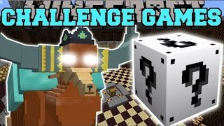 PopularMMOs Pat and Jen Minecraft: PRINCE RUTHERFORD CHALLENGE GAMES - Lucky Block Mod - Modded Min