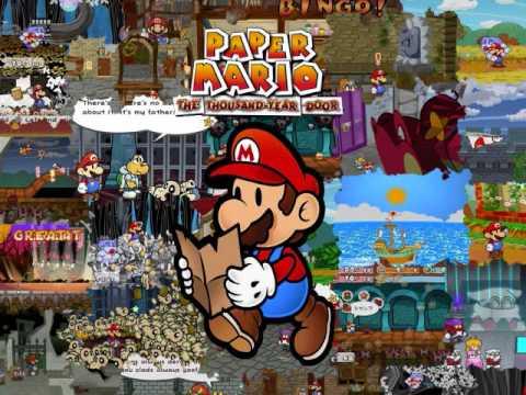 Paper Mario: The Thousand Year Door OST 65: Magnus Von PUNISH!!!