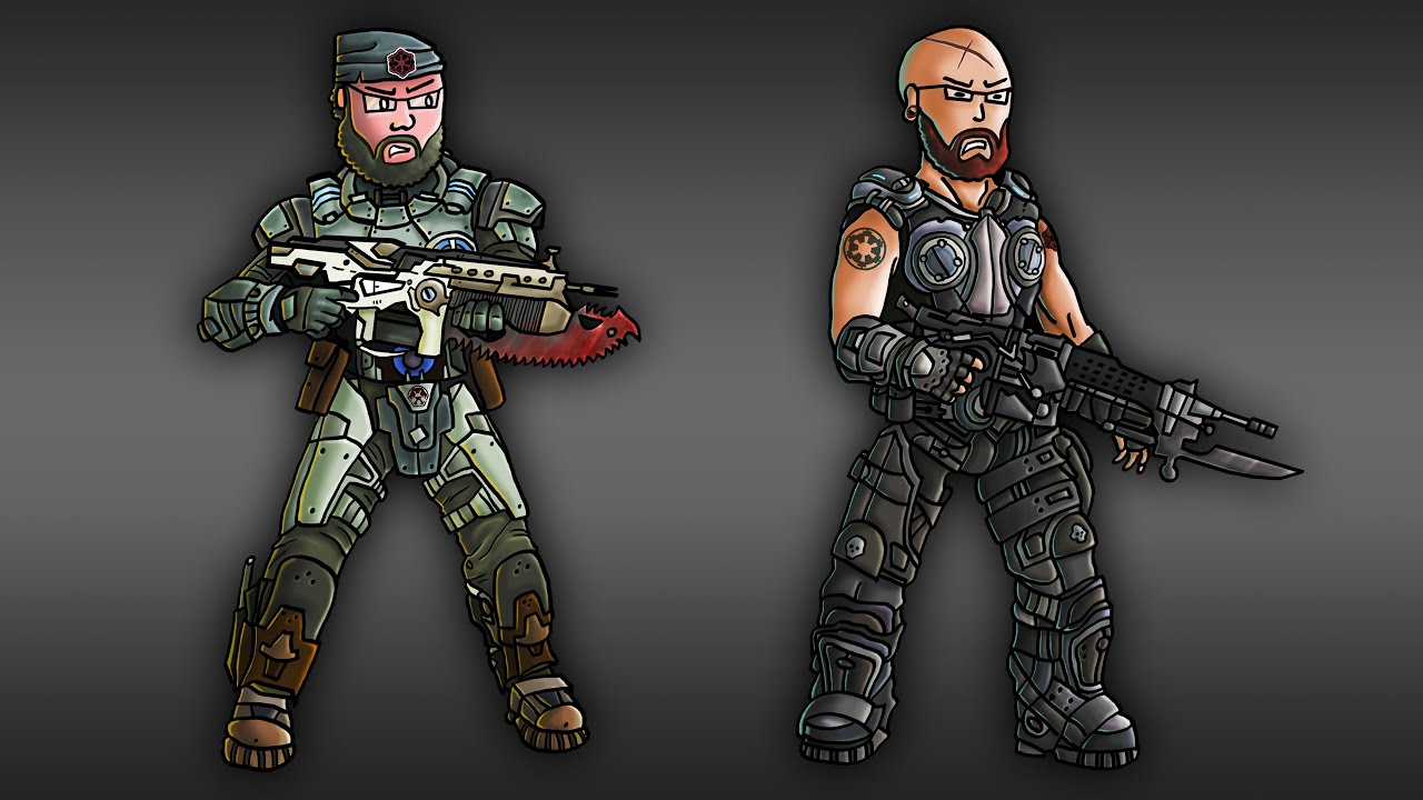 Character Design Demo Reel : Character design demo reel gears of war youtube