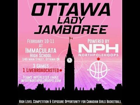 Notre Dame vs Canada Topflight Academy - Lady Jamboree