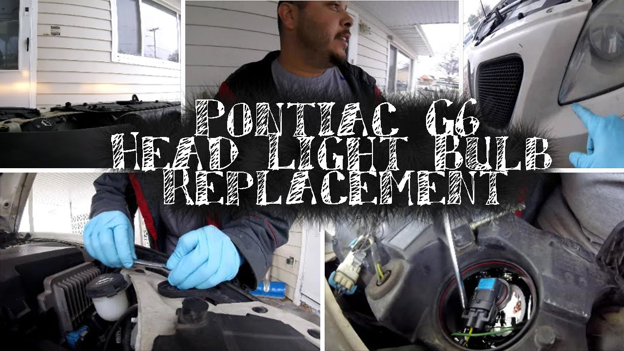 medium resolution of pontiac g6 head light replacement