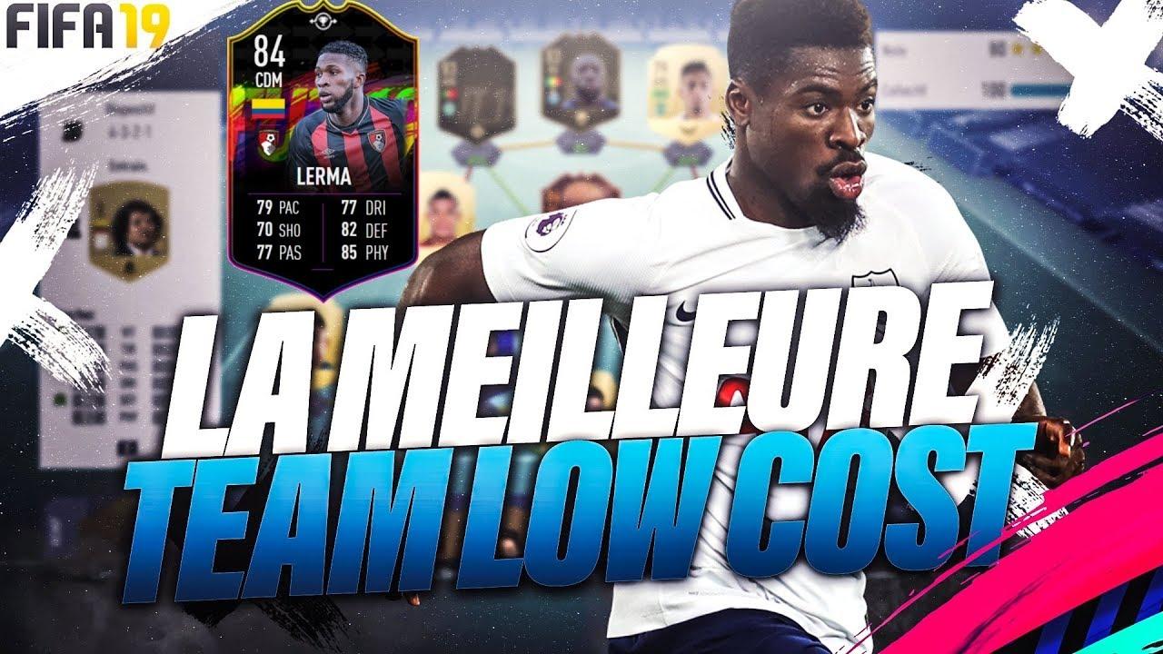 BEST TEAM POUR 100K AVEC LE KANTE COLOMBIEN GRATUIT ! FIFA 19