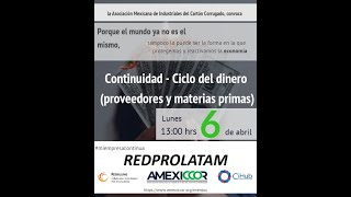 Continuidad de Negocio - Ciclo del Dinero (Proveedores y Materias Primas)