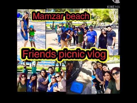 Al Mamzar Beach Park Dubai | picnic 🧺 vlog Friends and Family | BBQ 🍗 | Dubai UAE | Sharmila Barua