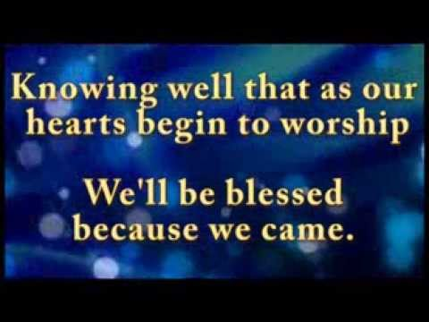 As we gather / The steadfast Love (instrumental / karaoke)