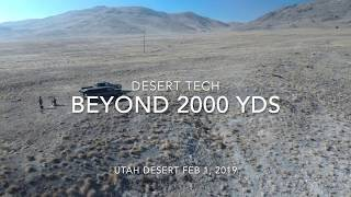 DT HTI .375 CT at 2300 yards with Drone
