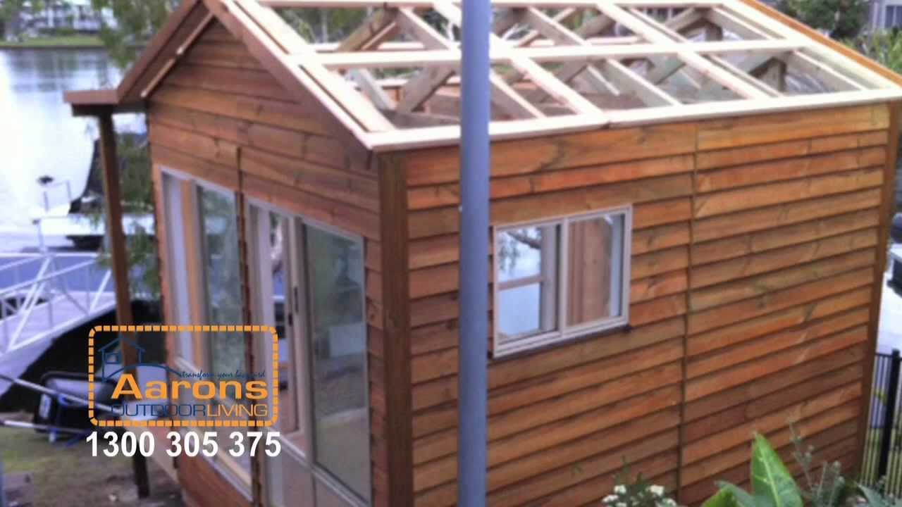 Aarons backyard cabins and granny flat add value to your for Backyard cabins granny flats