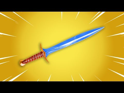 SWORD melee weapon in Fortnite..