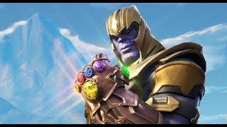 Fortnite Thanos 15 KILLS in 20 SECONDS! (Avengers Endgame)