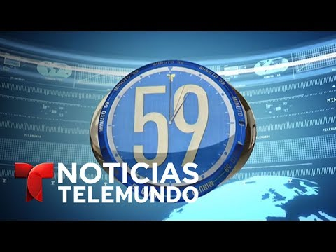 Minuto 59, lunes 19 de junio del 2017 |  Noticiero | Noticia