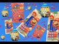 4K SUPER MARIO PEZ Surprise EGG MARIO sticker Lasercut Keychains  unboxing ??  Kinder ??? Lucky Bag