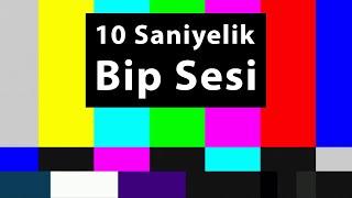 Bip Sesi 10 Saniye, Sansür Sesi, Bozuk Ekran Sesi, Tv Efekti