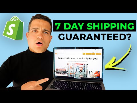 7 Day Shipping From China? TOP SUPPLIER FOR SHOPIFY DROPSHIPPING! Fast Aliexpress Alternatives 2021