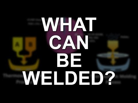 Plastic Identification... What Can Be Welded? What Can't?