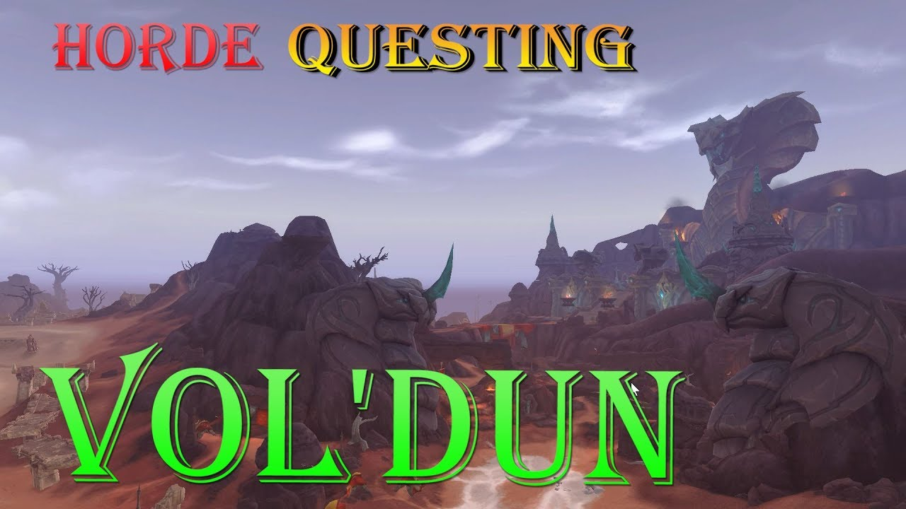Quest Secrets In The Sand Battle For Azeroth Vol Dun Questing Wow Youtube
