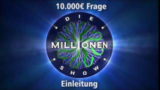 10.000€ Frage - Einleitung | Millionenshow Soundeffect