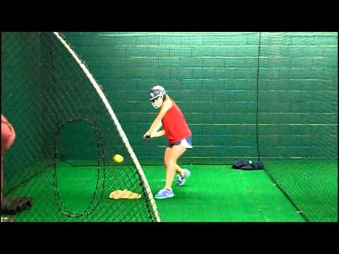 Indoor Batting Cage at Train Yard Gym & Fitness - YouTube