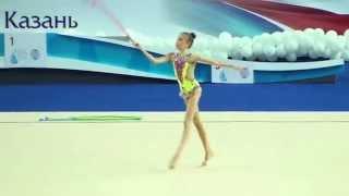 Лютикова Полина, скакалка, художественная гимнастика