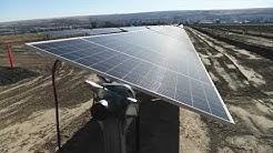Solar Farm in Lind, Washington