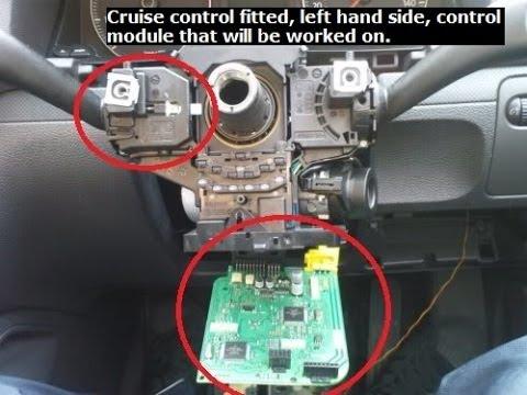 Vw Golf Mk5 Cruise Control Retrofit - YouTube