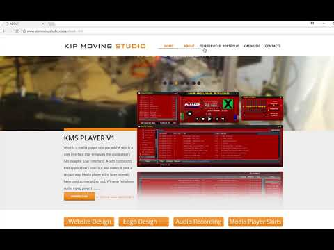 KMS Windows Media Player and  Winamp Media Player Skin Presentation By Legion Da Mimzy