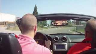 Ferrari California V8 490 HP - Test Drive Maranello Onboard ( 2012 )