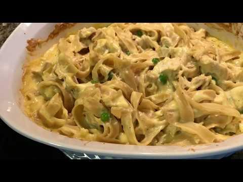 Easy Chicken & Noodle Casserole (Freezer Friendly Recipe)