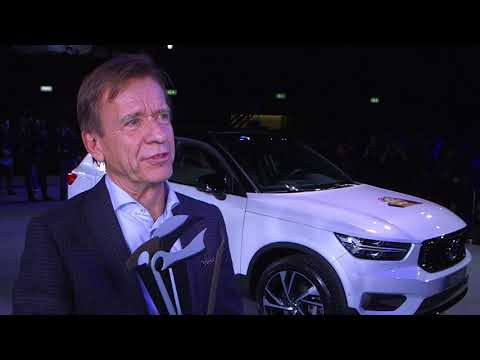 Interview with Hakan Samuelsson, CEO of Volvo, winner of the 2018 Car of the year en