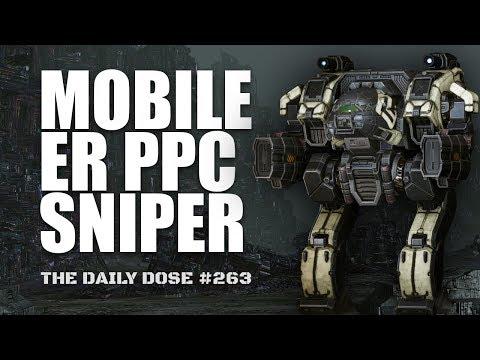 The mobile ER PPC Sniper Linebacker - Mechwarrior Online The Daily Dose #263