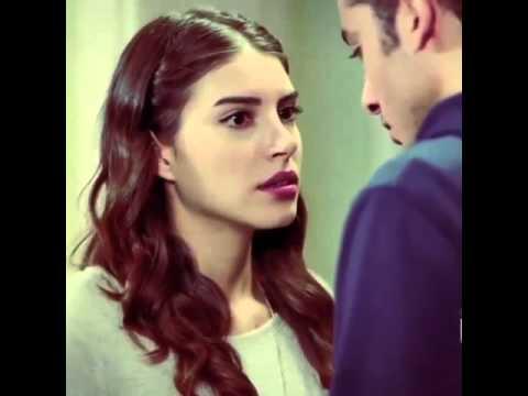 اجمل قبلة من المسلسل التركي هههه