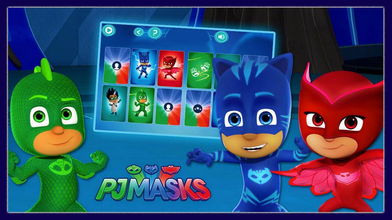 Pj Masks Hidden Heros Disney Junior Games For Kids Youtube