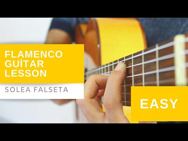 Flamenco Gitar Dersi - Solea Falseta