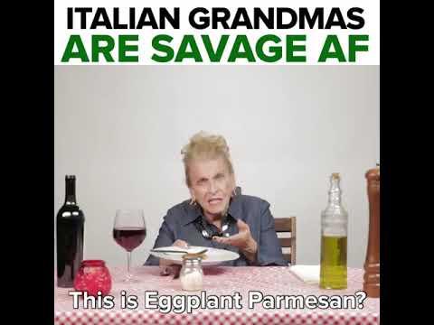 Italian Grandma's Has No Filter