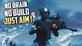 NO BRAIN, NO BUILD, JUST AIM! (Aggressive player) Fortnite royal battle