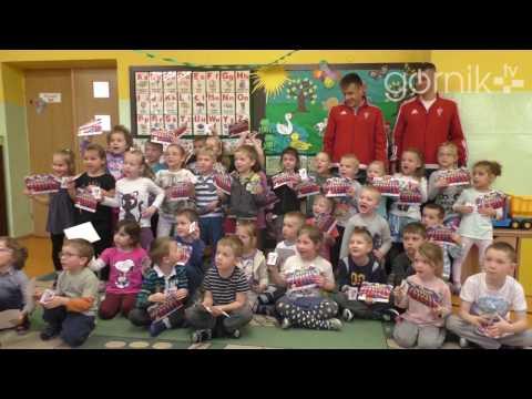 Piłkarze Górnika odwiedzili przedszkolaków z Rudy Śląskiej