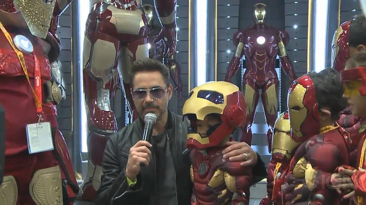 Tony Stark And His Iron Man Army Descend Upon Comic Con Comic Con 2012 Youtube