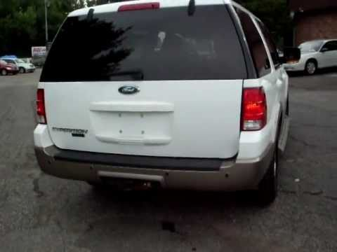 2004 Ford Expedition Eddie Bauer, 4x4, 5.4 V8, Leather Quads, DVD ...